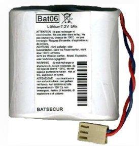 BATTERIA LITIO BATSECUR BAT06