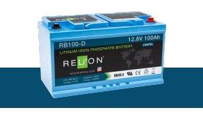 BATTERIA RELION LITIO RB100-D