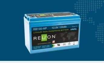 BATTERIA RELION LITIO RB100-HP