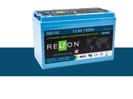 BATTERIA RELION LITIO RB100