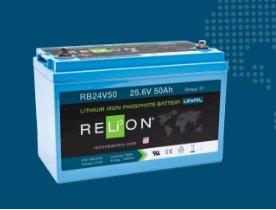 BATTERIA RELION LITIO RB24V50