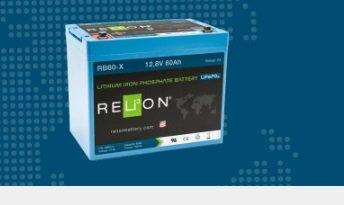 BATTERIA RELION LITIO RB60-X