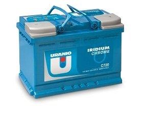 Batteria Uranio Iridium Chrome C360