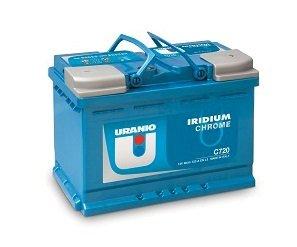 Batteria Uranio Iridium Chrome C500