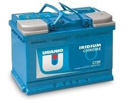 Batteria Uranio Iridium Chrome C530