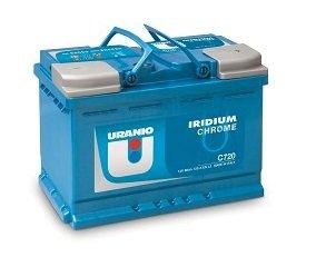 Batteria Uranio Iridium Chrome C700