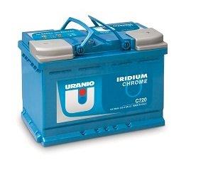 Batteria Uranio Iridium Chrome C600