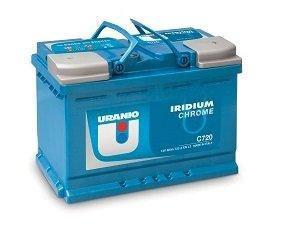 Batteria Uranio Iridium Chrome C850