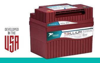 Batteria Trojan TRILLIUM 12.8-110 Li-Ion