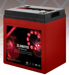 Batteria Zenith ZL080110
